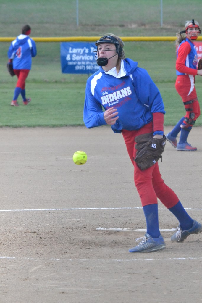 Peebles pitcher Madison Pierce