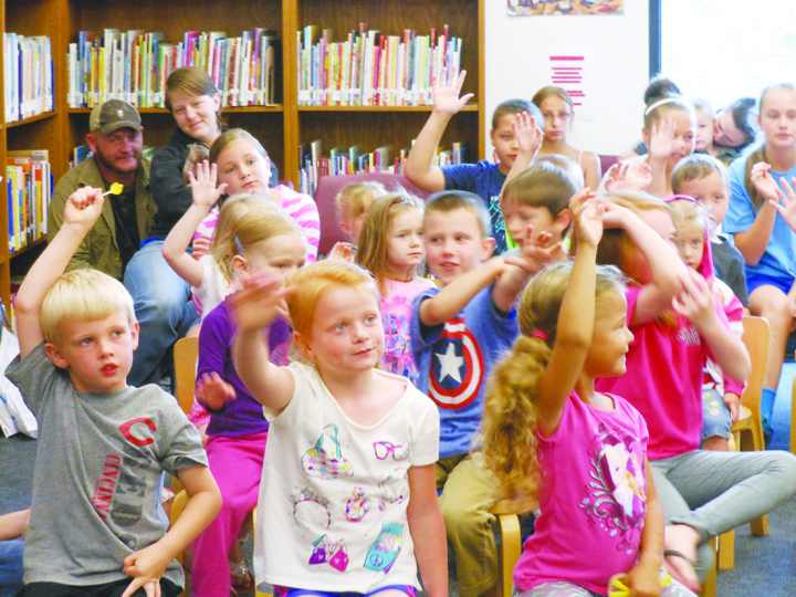 Becoming enthusiastic about reading is one of the main goals of the Summer Reading Program, which begins on June 1.