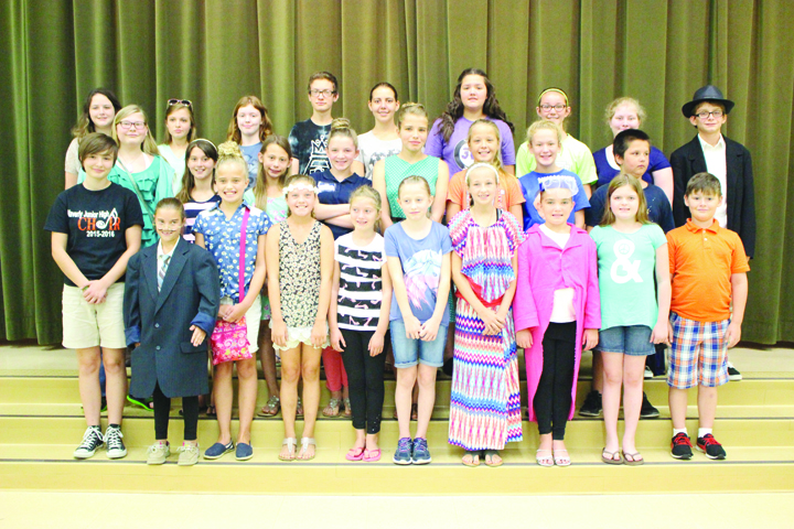 These Adams County youth participated last week in the Summer Arts Camp, sponsored annually by the Adams County Arts Council.