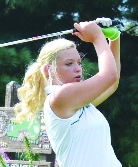 Sophomore DeAnna Caraway paced the West Union Lady Dragons, shooting a 42 at the ACCC on Aug. 19.