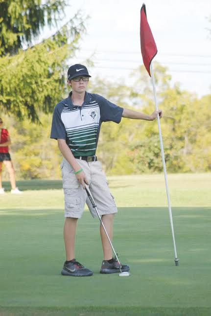 North Adams's Noah Lung shot an 84 for the 18 holes in the Division III sectional tournament, helping the Green Devils earn a spot in the districts.