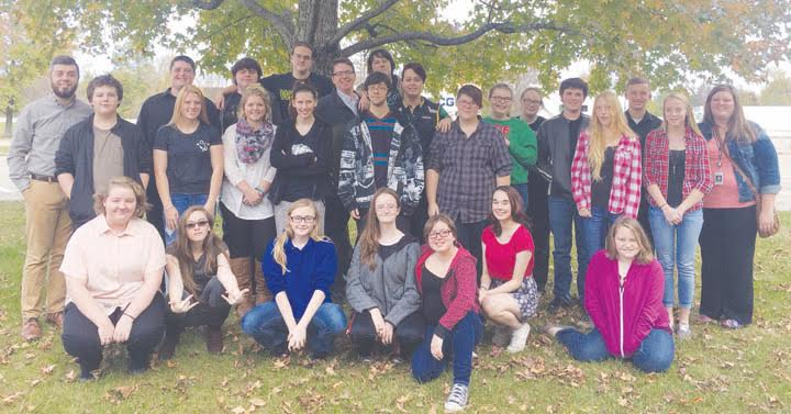 Students in Mr. Neil DeAtley's Music Culture class at West Union High School recently traveled to the Aronoff Center in Cincinnati to participate in a multi-genre opera event.
